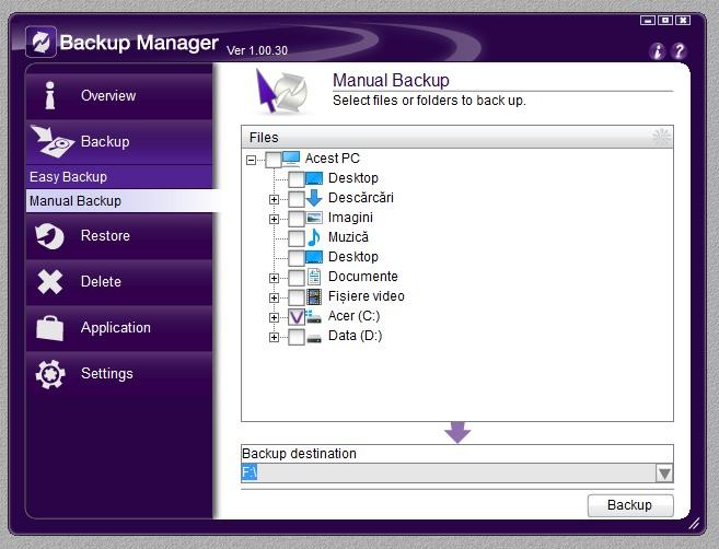 Backup Manager 04
