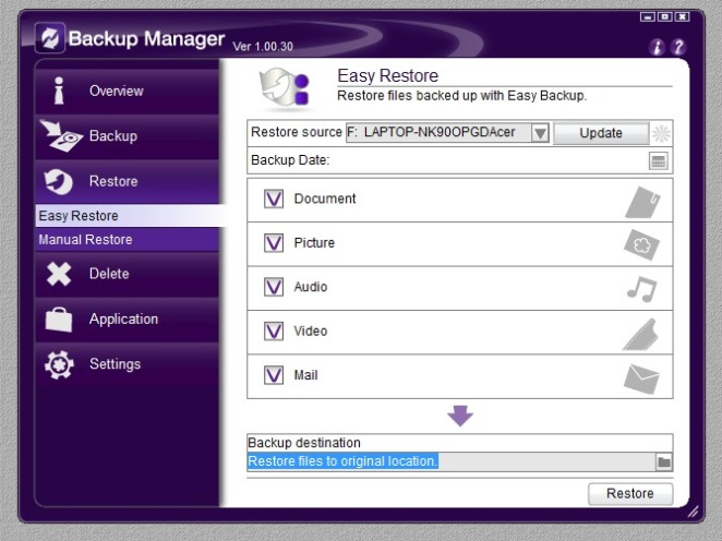Backup Manager 05