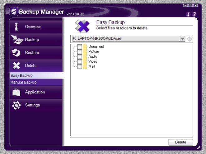 Backup Manager 07