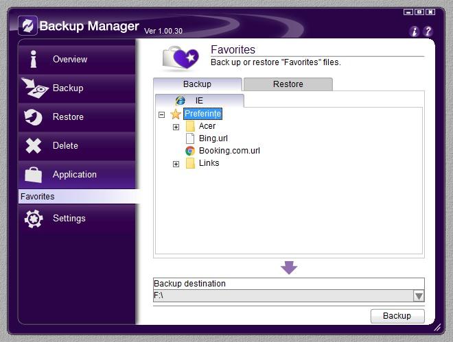Backup Manager 08