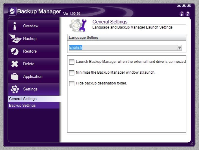 Backup Manager 09