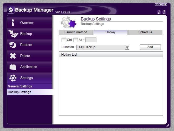 Backup Manager 11