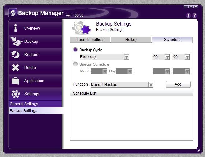Backup Manager 12